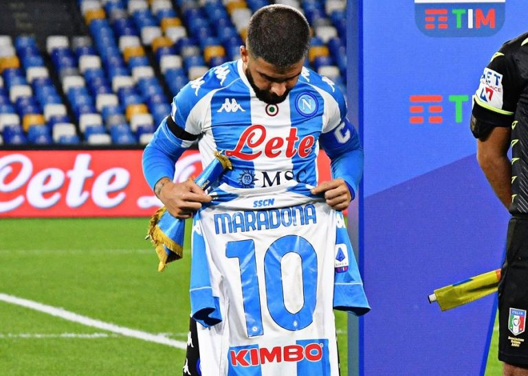Μαραντόνα : Ο Ινσίνιε έκανε τατουάζ στο πόδι του τον Ντιεγκίτο | tovima.gr