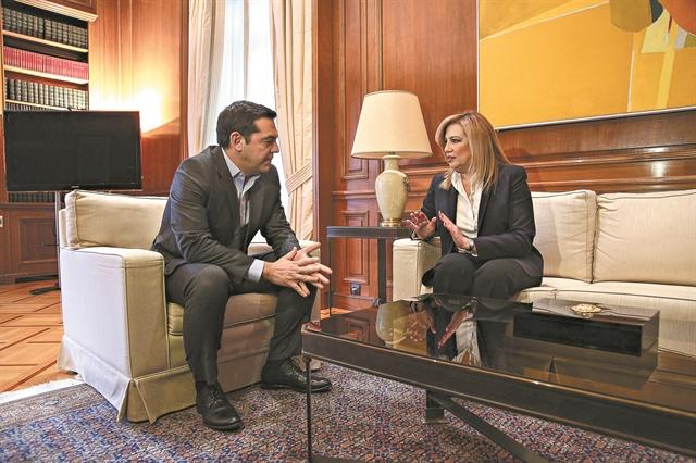 Επίθεση στην κυβέρνηση, νέο άνοιγμα στο ΚΙΝΑΛ | tovima.gr