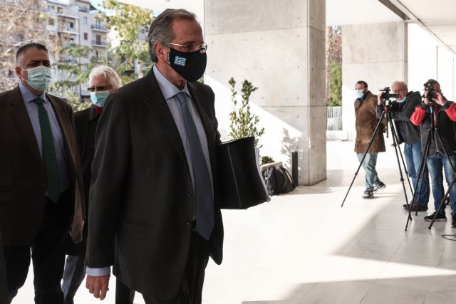 Yπόθεση Novartis : Επί έξι ώρες κατέθετε ο Αντώνης Σαμαράς   tovima.gr