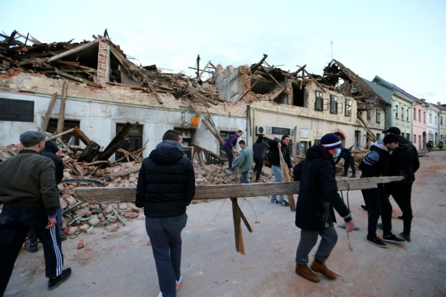 Σεισμός στην Κροατία : Πέντε άτομα έχασαν την ζωή τους από την ισχυρή δόνηση | tovima.gr