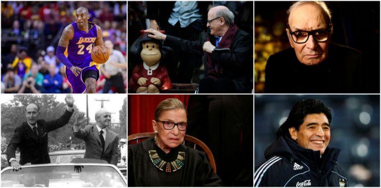 Σημαντικά πρόσωπα που έφυγαν από τη ζωή το 2020 | tovima.gr