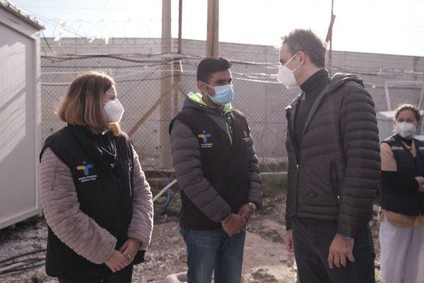 Μητσοτάκης: Τι είπε για την νέα μόνιμη δομή στο Καρά Τεπέ | tovima.gr
