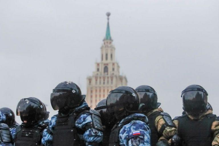 Πόλεμος υψηλής τεχνολογίας ανάμεσα σε Κρεμλίνο και διαδηλωτές | tovima.gr