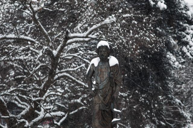 Χιόνισε σε Οθωνούς και Λευκίμμη | tovima.gr