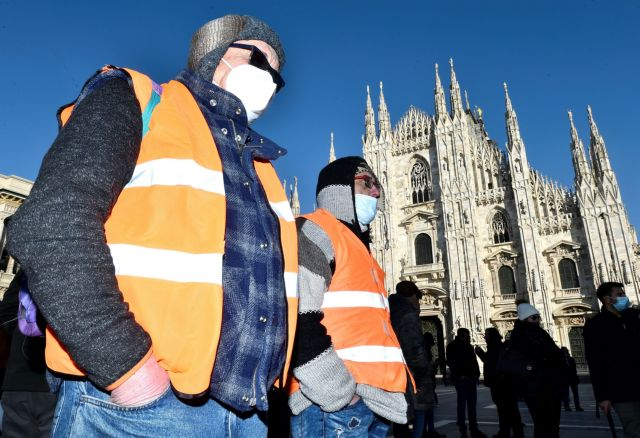 Ιταλία : Στα 11.069 τα νέα κρούσματα | tovima.gr