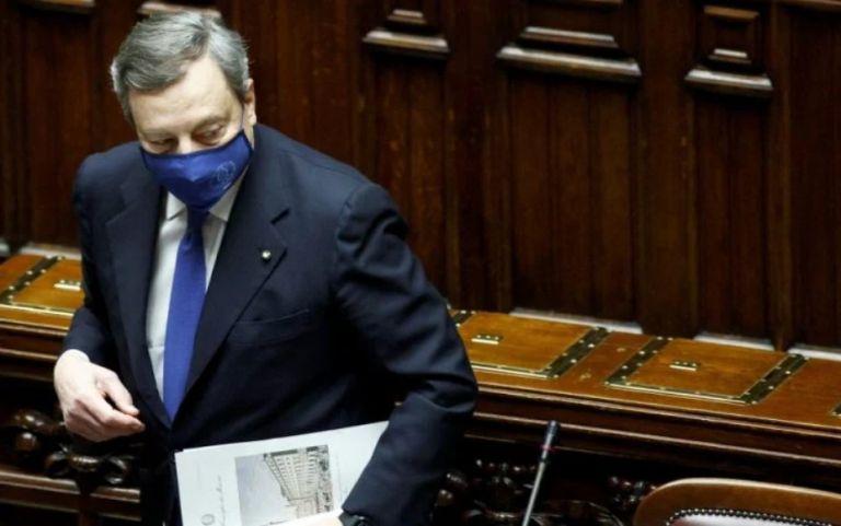 Ιταλία : Η κυβέρνηση Ντράγκι έλαβε ψήφο εμπιστοσύνης στη Βουλή   tovima.gr