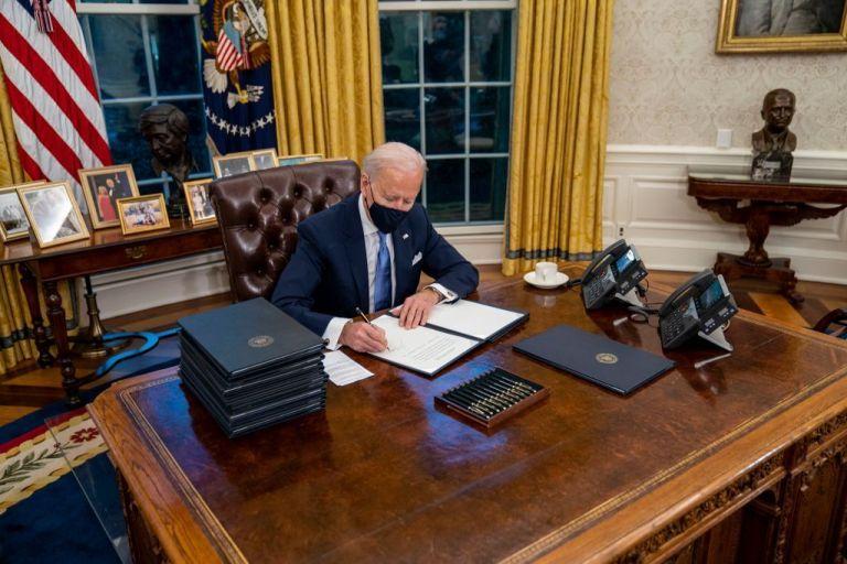 Αποτέλεσμα εικόνας για κυβέρνηση Μπάιντεν. ΗΠΑ, Συμφωνία του Παρισιού για το Κλίμα