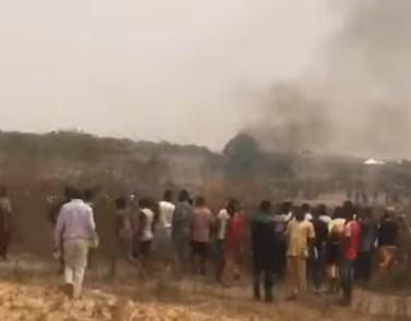 Συνετρίβη στρατιωτικό αεροσκάφος στη Νιγηρία   tovima.gr
