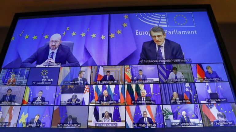 Μέρκελ : Οι ηγέτες της ΕΕ συμφώνησαν για πιστοποιητικά εμβολιασμού | tovima.gr