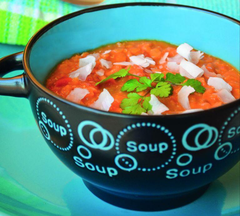 Σούπα με κόκκινες φακές | tovima.gr