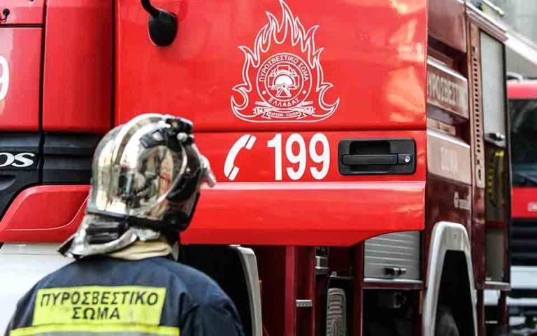 Φωτιά σε κτίριο στον Βοτανικό   tovima.gr
