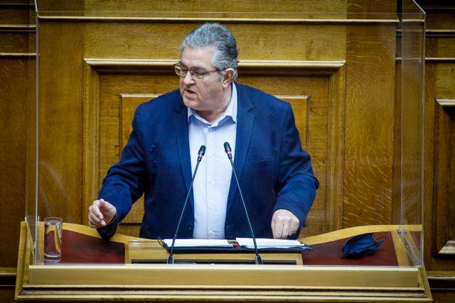 Κουτσούμπας σε Μητσοτάκη : Βολικός αντίπαλος ο Τσίπρας για να επιβληθεί «νόμος και τάξη» | tovima.gr