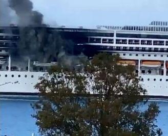 Κέρκυρα : Φωτιά σε κρουαζιερόπλοιο στην Κέρκυρα | tovima.gr