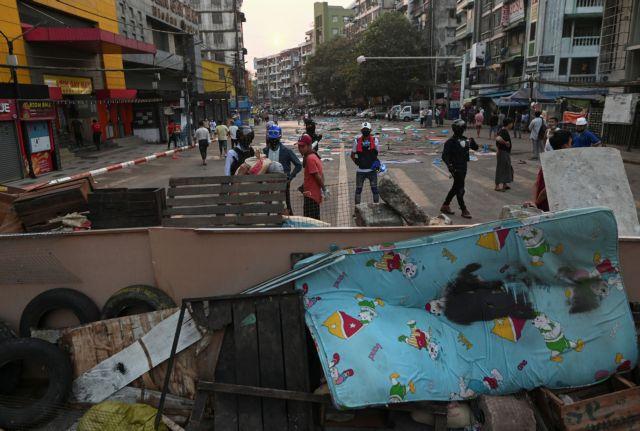 Μιανμάρ : Συγκρούσεων συνέχεια με 15 νεκρούς – Τι ζητά η Κίνα   tovima.gr