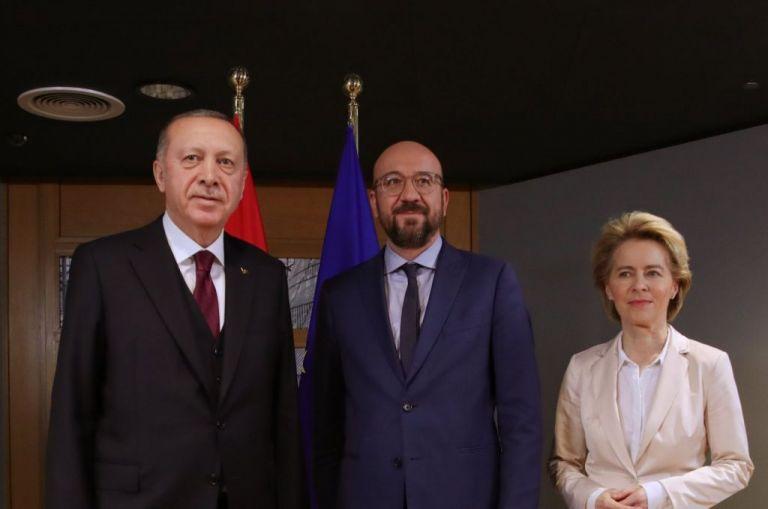 Ερντογάν : Η Ανατολική Μεσόγειος στο επίκεντρο της τηλεδιάσκεψης με φον Ντερ Λάιεν και Μισέλ   tovima.gr