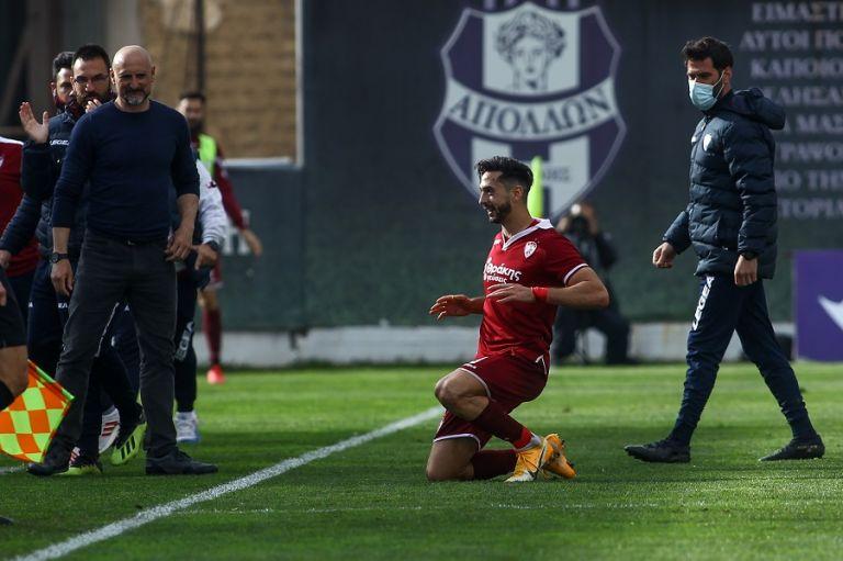 «Διπλό» ελπίδας για τη Λάρισα 2-0 τον Απόλλωνα Σμύρνης   tovima.gr
