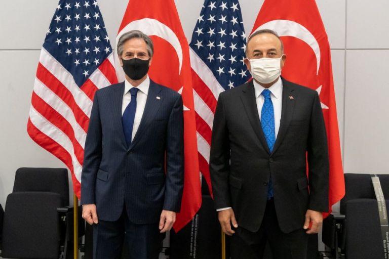 Συνάντηση Μπλίνκεν με Τσαβούσογλου : Στηρίζουμε τις διερευνητικές Τουρκίας – Ελλάδας   tovima.gr