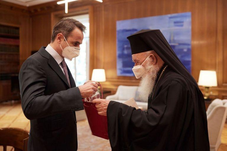 Τι συζήτησαν Μητσοτάκης – Ιερώνυμος στο Μαξίμου | tovima.gr