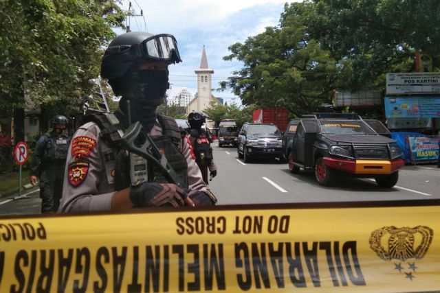 Ινδονησία : Τραυματίες σε επίθεση αυτοκτονίας έξω από εκκλησία | tovima.gr