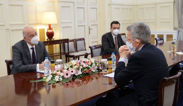 Συνάντηση Δένδια – Πάιατ : Τι συζήτησαν για την Ανατολική Μεσόγειο | tovima.gr
