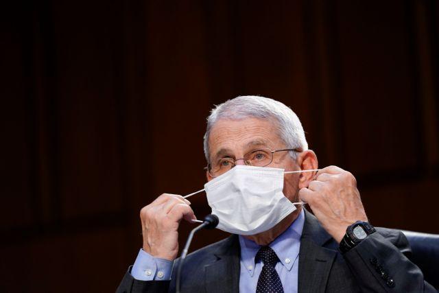 Δρ. Φάουτσι: Πότε πρέπει τα παιδιά να φορούν μάσκα | tovima.gr
