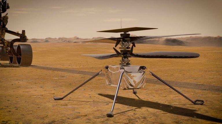 To Ingenuity ανοίγει φτερά για την πρώτη πτήση στον Άρη | tovima.gr