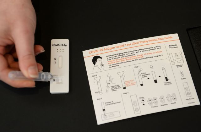 Κοντοζαμάνης : Την επόμενη εβδομάδα 7 εκατ. self test – Τι διαφορά έχουν από τα rapid test   tovima.gr