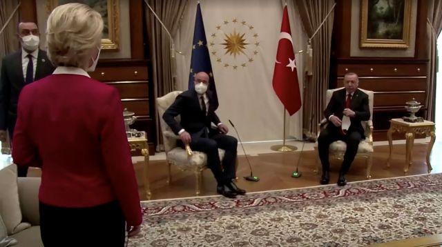 Το «sofagate» στριμώχνει τον Ερντογάν – Γαλλικά «πυρά» μετά την επίθεση Ντράγκι | tovima.gr