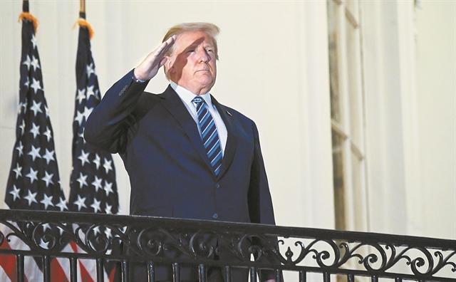 ΗΠΑ : Ο Τραμπ αυτοπαρουσιάζεται ως η ελπίδα των Ρεπουμπλικανών για τις ενδιάμεσες εκλογές του 2022 | tovima.gr