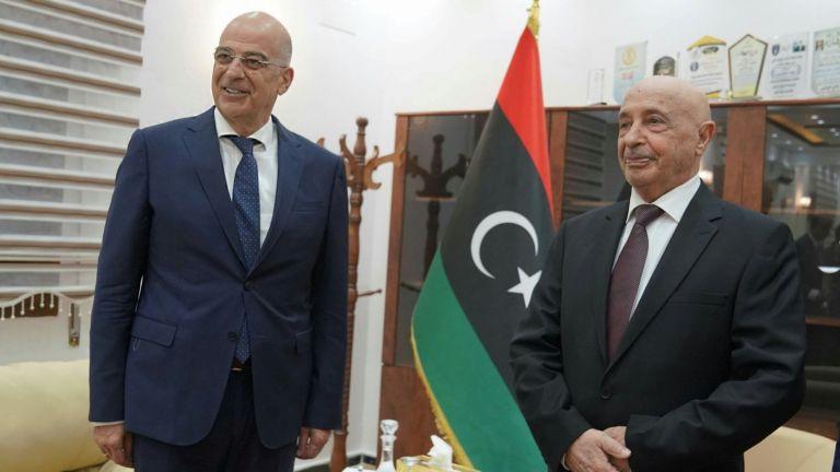 Λιβύη : Στη Βεγγάζη ο Νίκος Δένδιας για σειρά επαφών | tovima.gr