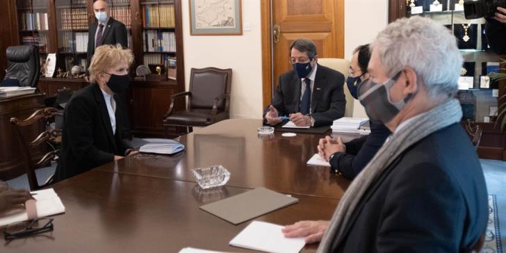 Κυπριακό : Τι είπε ο Αναστασιάδης στη Λουτ για την Πενταμερή – Το μήνυμα προς την τουρκική πλευρά | tovima.gr