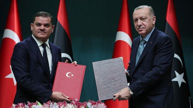 Ερντογάν: Τουρκία και Λιβύη παραμένουν δεσμευμένες στο τουρκολιβυκό μνημόνιο | tovima.gr