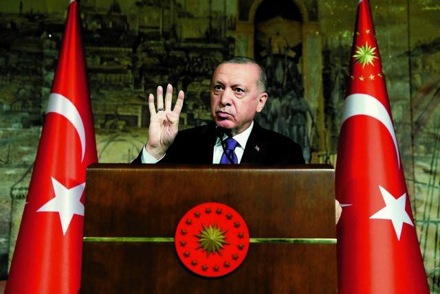 Ερντογάν: «Αν χρειαστεί, θα επέμβουμε στην Κύπρο» – Προκλήσεις και για Αν. Μεσόγειο | tovima.gr