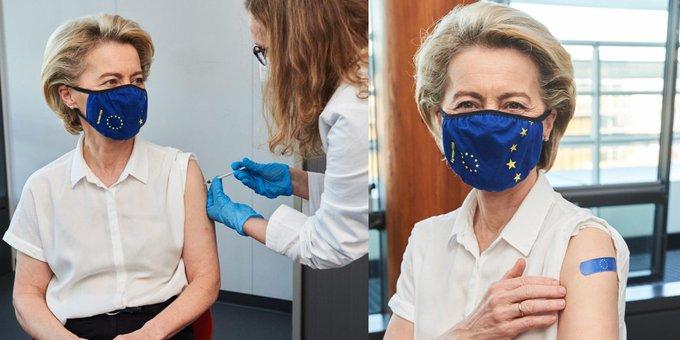 Κορωνοϊός: Εμβολιάστηκε η Ούρσουλα Φον Ντερ Λάιεν – Αύριο θα εμβολιαστεί η Μέρκελ | tovima.gr