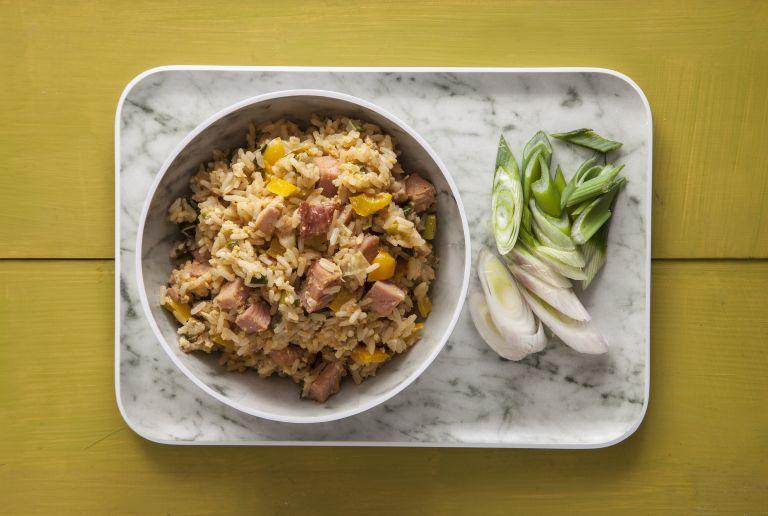 Τηγανητό ρύζι με απάκι Κρήτης | tovima.gr