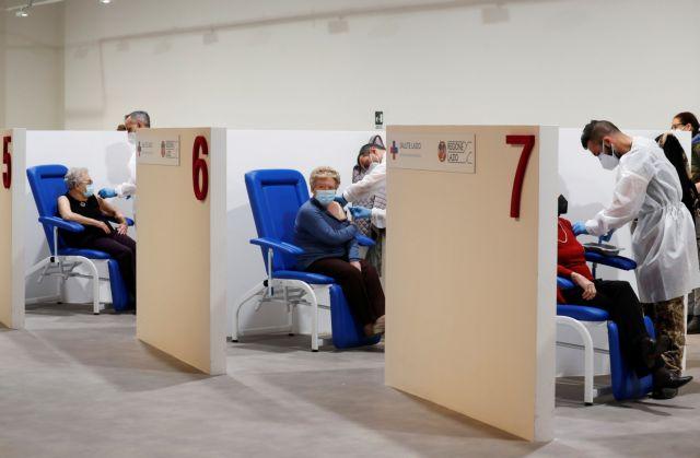 Ιταλία : Ρεκόρ εμβολιασμών το τελευταίο 24ωρο | tovima.gr