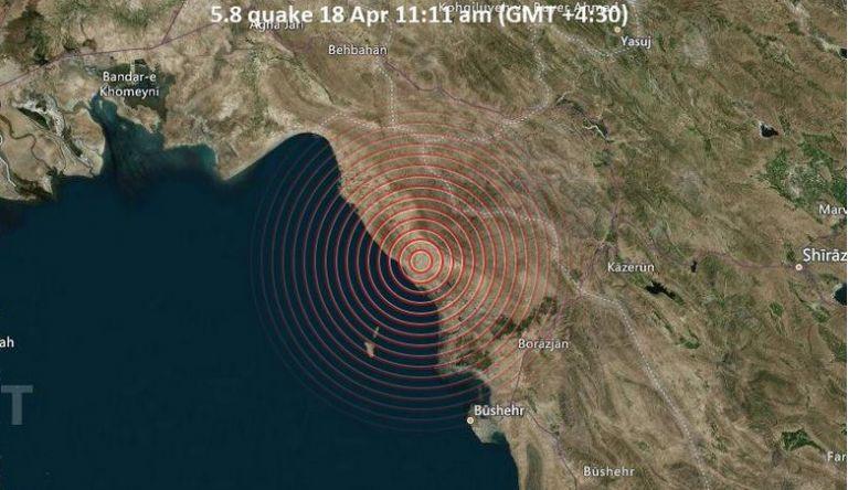 Ιράν : Σεισμός 5,9  βαθμών – Δεν υπάρχουν αναφορές για θύματα | tovima.gr