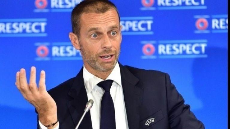 «Βόμβα» του προέδρου της UEFA : Απειλεί με αποκλεισμό τους ποδοσφαιριστές που θα θελήσουν να αγωνιστούν στην ESL   tovima.gr