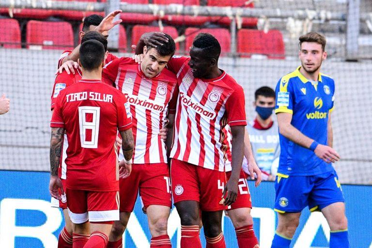 Ολυμπιακός – Αστέρας Τρίπολης 1-0: Με την υπογραφή του Σωκράτη   tovima.gr