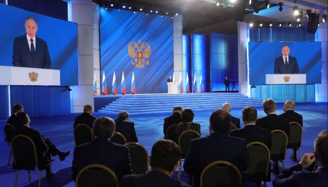 Πούτιν : Οσοι απειλήσουν τη Ρωσία θα το μετανιώσουν – Τι είπε στο διάγγελμά του   tovima.gr