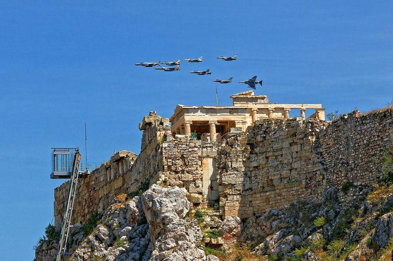 «Ηνίοχος 21»: Πάνω από 1.100 έξοδοι αεροσκαφών στην άσκηση | tovima.gr
