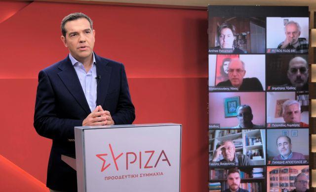 Τσίπρας: Η μάχη για τα εργασιακά θα είναι η μάχη των μαχών με την κυβέρνηση Μητσοτάκη | tovima.gr