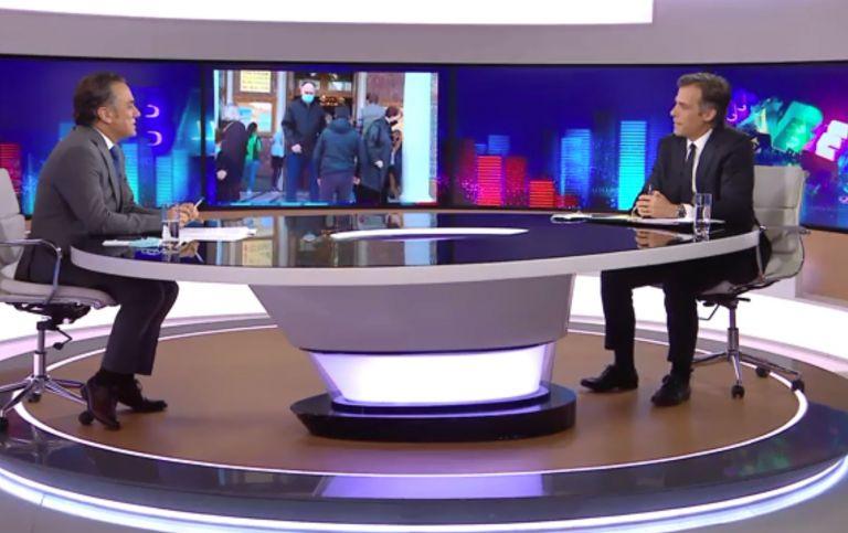 Αρκουμανέας: Το 95% όσων νοσηλεύονται σε ΜΕΘ είναι ανεμβολίαστοι | tovima.gr