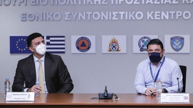 Κορωνοϊός : Με Κικίλια-Χαρδαλιά η σημερινή ενημέρωση | tovima.gr