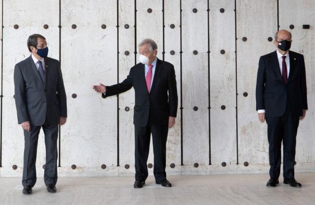 Πενταμερής – Κυπριακό: Ο Τατάρ αιτείται το Συμβούλιο Ασφαλείας του ΟΗΕ να αναγνωρίσει δύο κράτη | tovima.gr