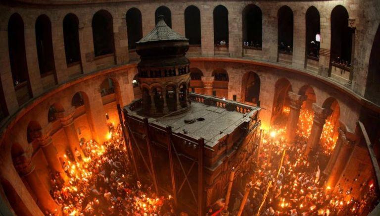 Άγιο Φως: Live από τον Πανάγιο Τάφο   tovima.gr