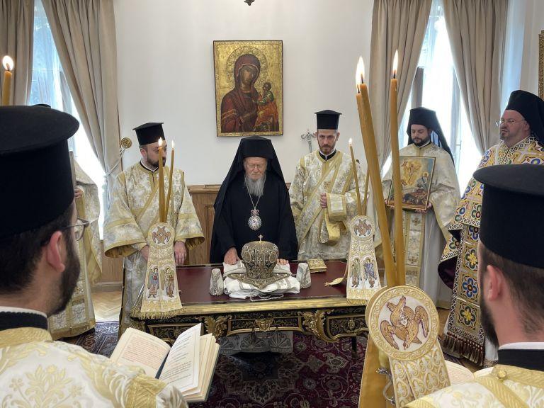 H Κυριακή του Πάσχα στο Οικουμενικό Πατριαρχείο | tovima.gr