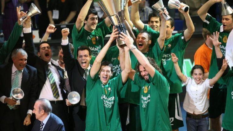 3/5/2009: Ο Παναθηναϊκός κατακτά το 5ο ευρωπαϊκό του στο Βερολίνο | tovima.gr