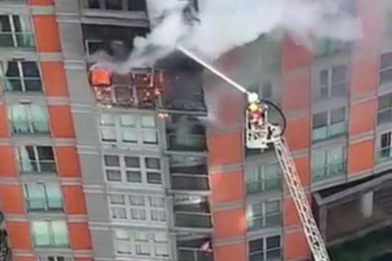 Λονδίνο: Στις φλόγες πολυώροφο κτίριο   tovima.gr