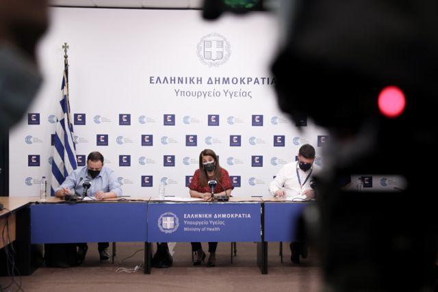 Η πρώτη αποκλιμάκωση των κρουσμάτων μετά από μήνες | tovima.gr
